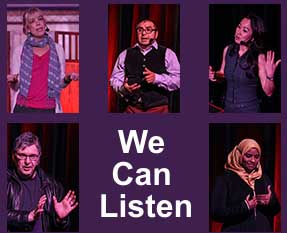 We Can Listen Immigrant and Refugee Stories