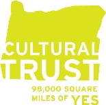 Oregon Cultural Trust (OCT) is a sponsor of Portland Story Theater
