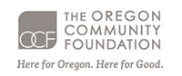 OCF Oregon Community Foundation, proud sponsor of Portland Story Theater
