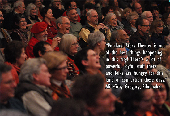 Portland Story Theater at the Alberta Abbey