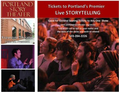 Portland Story Theater Gift Certificate CD