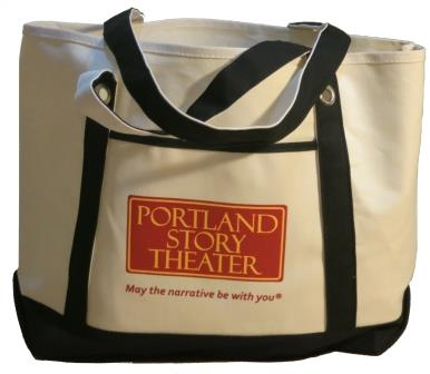 Portland Story Theater tote bag