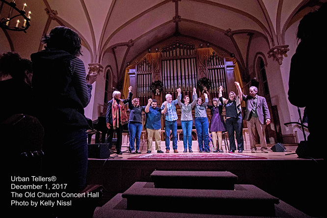 Portland Story Theater Urban Tellers at The Old Church Concert Hall