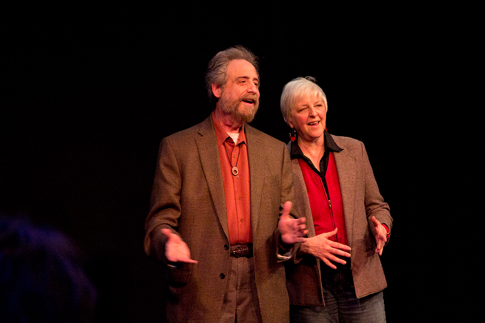 Portland Story Theater Founders, Lawrence Howard & Lynne Duddy