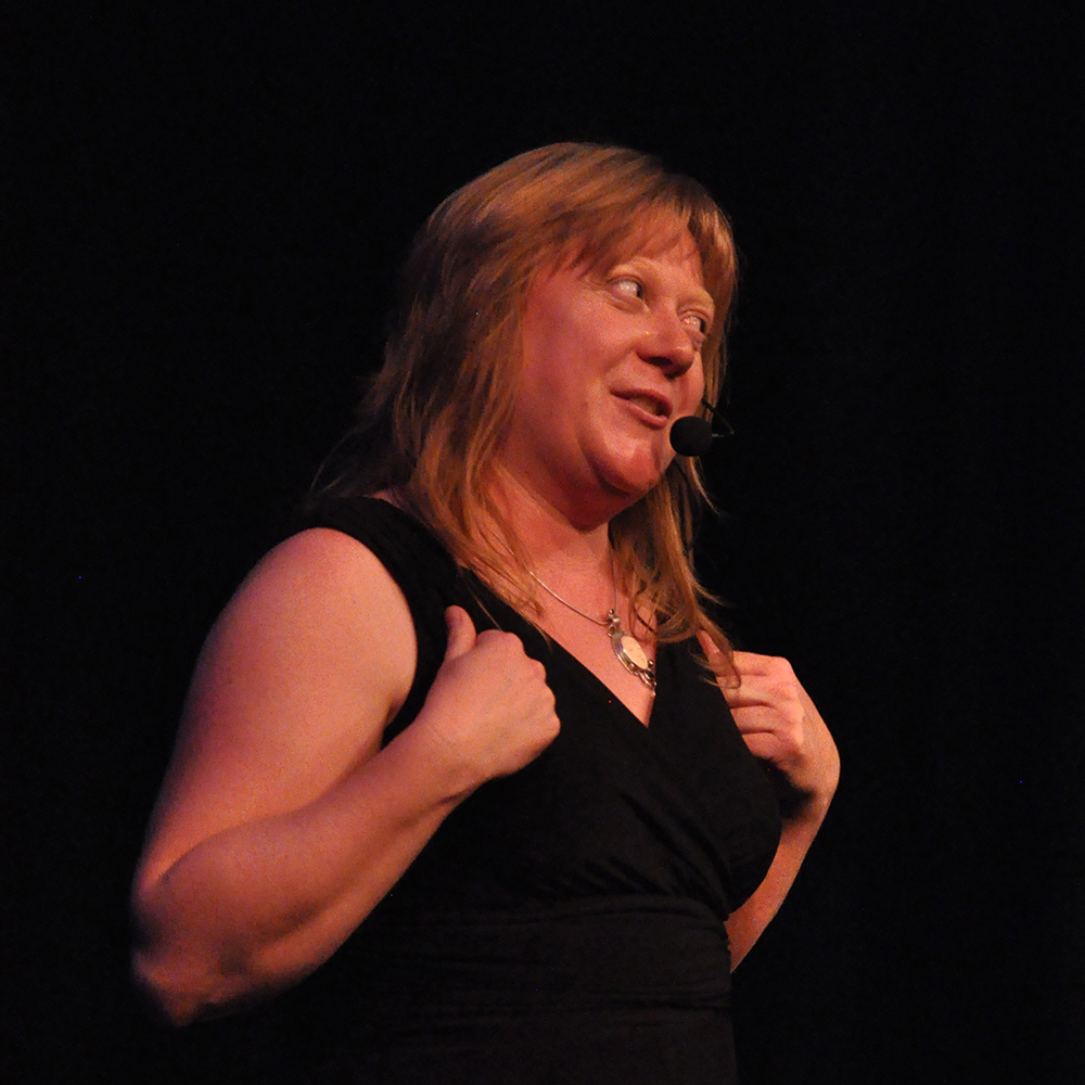 Portland Story Theater's Penny Walter