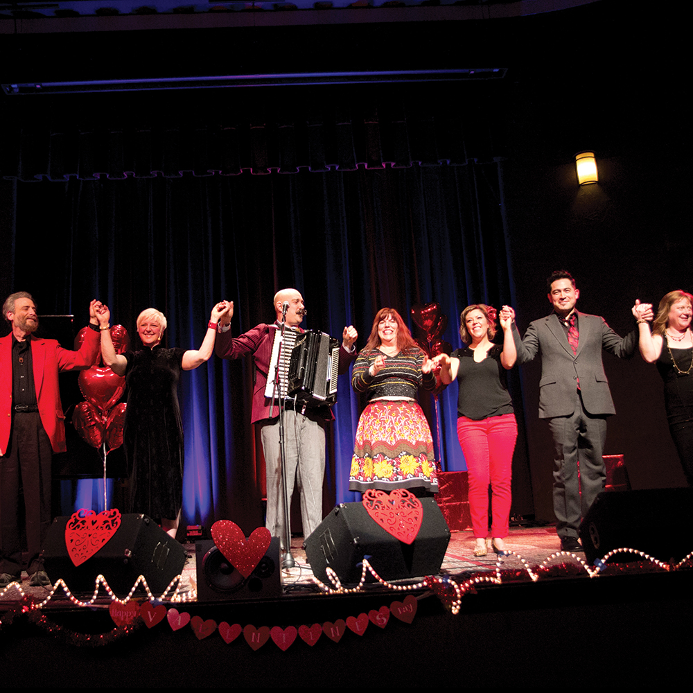 Portland Story Theater's Kiss & Tell, Valentine's
