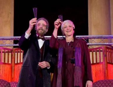 Lynne Duddy and Lawrence Howard