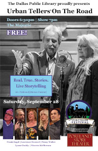 PDX Story Theater at the Dallas Storytelling Festival