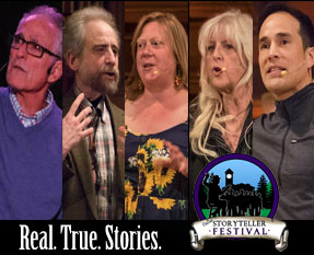 Portland Story Theater Urban Tellers® On The Road in Dallas Oregon